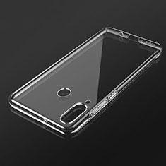 Silikon Schutzhülle Ultra Dünn Tasche Durchsichtig Transparent K02 für Huawei P30 Lite Klar