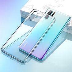 Silikon Schutzhülle Ultra Dünn Tasche Durchsichtig Transparent K02 für Huawei P30 Pro Klar
