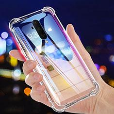 Silikon Schutzhülle Ultra Dünn Tasche Durchsichtig Transparent K02 für OnePlus 7T Pro Klar