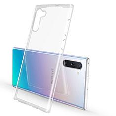 Silikon Schutzhülle Ultra Dünn Tasche Durchsichtig Transparent K02 für Samsung Galaxy Note 10 5G Klar