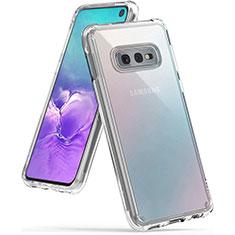 Silikon Schutzhülle Ultra Dünn Tasche Durchsichtig Transparent K02 für Samsung Galaxy S10e Klar