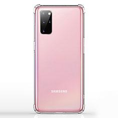 Silikon Schutzhülle Ultra Dünn Tasche Durchsichtig Transparent K02 für Samsung Galaxy S20 Plus Klar