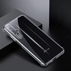 Silikon Schutzhülle Ultra Dünn Tasche Durchsichtig Transparent K03 für Huawei Honor 20 Klar
