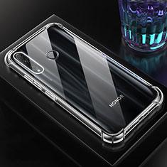 Silikon Schutzhülle Ultra Dünn Tasche Durchsichtig Transparent K03 für Huawei Honor 20 Lite Klar