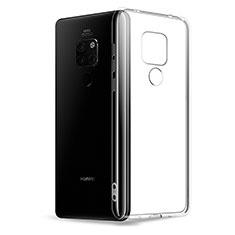 Silikon Schutzhülle Ultra Dünn Tasche Durchsichtig Transparent K03 für Huawei Mate 20 Klar