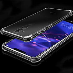 Silikon Schutzhülle Ultra Dünn Tasche Durchsichtig Transparent K03 für Huawei Mate 20 Lite Klar