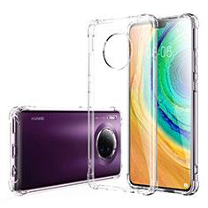 Silikon Schutzhülle Ultra Dünn Tasche Durchsichtig Transparent K03 für Huawei Mate 30 5G Klar