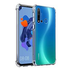 Silikon Schutzhülle Ultra Dünn Tasche Durchsichtig Transparent K03 für Huawei Nova 5i Klar