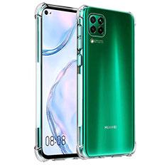 Silikon Schutzhülle Ultra Dünn Tasche Durchsichtig Transparent K03 für Huawei P40 Lite Klar