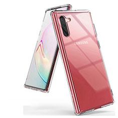 Silikon Schutzhülle Ultra Dünn Tasche Durchsichtig Transparent K03 für Samsung Galaxy Note 10 5G Klar