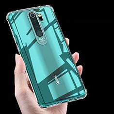 Silikon Schutzhülle Ultra Dünn Tasche Durchsichtig Transparent K03 für Xiaomi Redmi Note 8 Pro Klar