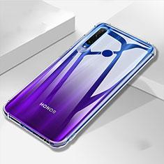 Silikon Schutzhülle Ultra Dünn Tasche Durchsichtig Transparent K04 für Huawei Honor 20 Lite Klar