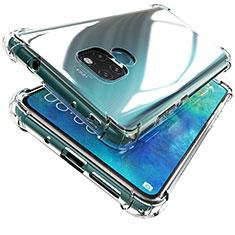 Silikon Schutzhülle Ultra Dünn Tasche Durchsichtig Transparent K04 für Huawei Mate 20 Klar