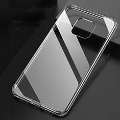 Silikon Schutzhülle Ultra Dünn Tasche Durchsichtig Transparent K04 für Huawei Mate 20 Pro Klar