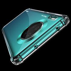 Silikon Schutzhülle Ultra Dünn Tasche Durchsichtig Transparent K04 für Huawei Mate 30 Klar