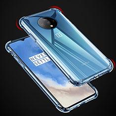 Silikon Schutzhülle Ultra Dünn Tasche Durchsichtig Transparent K04 für OnePlus 7T Klar
