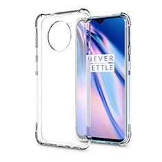 Silikon Schutzhülle Ultra Dünn Tasche Durchsichtig Transparent K04 für OnePlus 7T Pro Klar