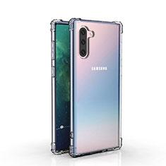 Silikon Schutzhülle Ultra Dünn Tasche Durchsichtig Transparent K04 für Samsung Galaxy Note 10 5G Klar