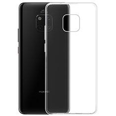 Silikon Schutzhülle Ultra Dünn Tasche Durchsichtig Transparent K05 für Huawei Mate 20 Pro Klar