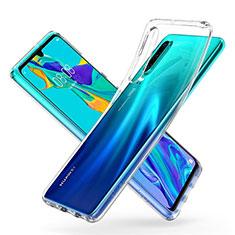 Silikon Schutzhülle Ultra Dünn Tasche Durchsichtig Transparent K05 für Huawei P30 Klar