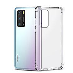 Silikon Schutzhülle Ultra Dünn Tasche Durchsichtig Transparent K05 für Huawei P40 Klar