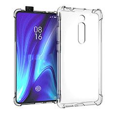 Silikon Schutzhülle Ultra Dünn Tasche Durchsichtig Transparent K05 für Xiaomi Mi 9T Pro Klar