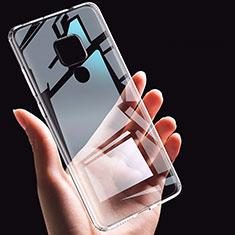Silikon Schutzhülle Ultra Dünn Tasche Durchsichtig Transparent K06 für Huawei Mate 20 Klar