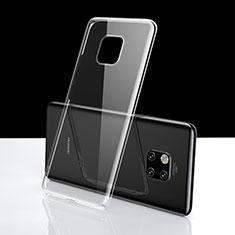 Silikon Schutzhülle Ultra Dünn Tasche Durchsichtig Transparent K06 für Huawei Mate 20 Pro Klar