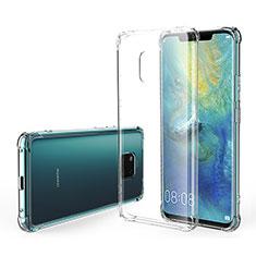 Silikon Schutzhülle Ultra Dünn Tasche Durchsichtig Transparent K07 für Huawei Mate 20 Pro Klar