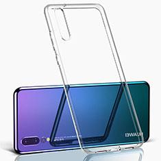 Silikon Schutzhülle Ultra Dünn Tasche Durchsichtig Transparent K09 für Huawei P20 Pro Klar