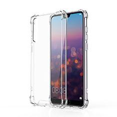 Silikon Schutzhülle Ultra Dünn Tasche Durchsichtig Transparent K10 für Huawei P20 Pro Klar