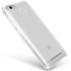 Silikon Schutzhülle Ultra Dünn Tasche Durchsichtig Transparent Q01 für Xiaomi Redmi 3 Pro Klar