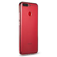 Silikon Schutzhülle Ultra Dünn Tasche Durchsichtig Transparent R01 für Huawei Honor 8 Pro Klar