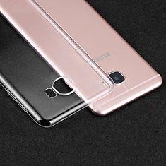 Silikon Schutzhülle Ultra Dünn Tasche Durchsichtig Transparent R01 für Samsung Galaxy C7 SM-C7000 Klar