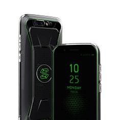 Silikon Schutzhülle Ultra Dünn Tasche Durchsichtig Transparent R01 für Xiaomi Black Shark Klar
