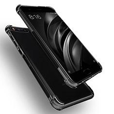 Silikon Schutzhülle Ultra Dünn Tasche Durchsichtig Transparent R01 für Xiaomi Mi 6 Klar