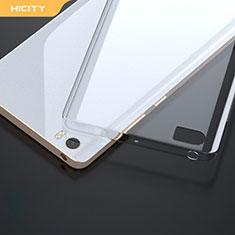 Silikon Schutzhülle Ultra Dünn Tasche Durchsichtig Transparent R01 für Xiaomi Mi Note Klar