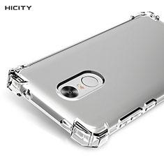 Silikon Schutzhülle Ultra Dünn Tasche Durchsichtig Transparent R01 für Xiaomi Redmi Note 4 Standard Edition Klar