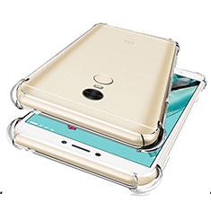 Silikon Schutzhülle Ultra Dünn Tasche Durchsichtig Transparent R01 für Xiaomi Redmi Note 4X Klar