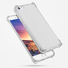 Silikon Schutzhülle Ultra Dünn Tasche Durchsichtig Transparent R02 für Xiaomi Mi 5 Klar