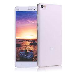 Silikon Schutzhülle Ultra Dünn Tasche Durchsichtig Transparent R02 für Xiaomi Mi Note Klar