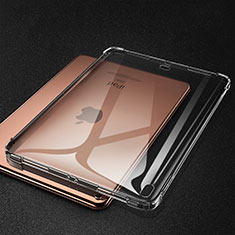 Silikon Schutzhülle Ultra Dünn Tasche Durchsichtig Transparent S01 für Apple iPad Pro 11 (2018) Grau