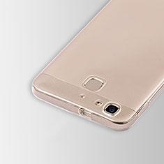 Silikon Schutzhülle Ultra Dünn Tasche Durchsichtig Transparent T01 für Huawei Enjoy 5S Klar