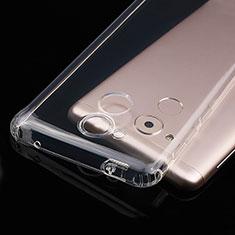 Silikon Schutzhülle Ultra Dünn Tasche Durchsichtig Transparent T01 für Huawei Enjoy 6S Klar