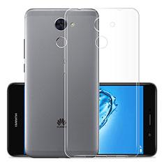 Silikon Schutzhülle Ultra Dünn Tasche Durchsichtig Transparent T01 für Huawei Enjoy 7 Plus Klar