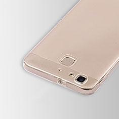 Silikon Schutzhülle Ultra Dünn Tasche Durchsichtig Transparent T01 für Huawei G8 Mini Klar