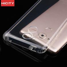 Silikon Schutzhülle Ultra Dünn Tasche Durchsichtig Transparent T01 für Huawei Honor 6C Klar