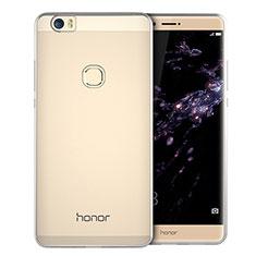 Silikon Schutzhülle Ultra Dünn Tasche Durchsichtig Transparent T01 für Huawei Honor V8 Max Klar