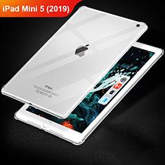 Silikon Schutzhülle Ultra Dünn Tasche Durchsichtig Transparent T02 für Apple iPad Mini 5 (2019) Klar