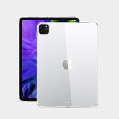 Silikon Schutzhülle Ultra Dünn Tasche Durchsichtig Transparent T02 für Apple iPad Pro 12.9 (2020) Klar